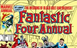 FANTASTIC FOUR ANNUAL #18 COVER