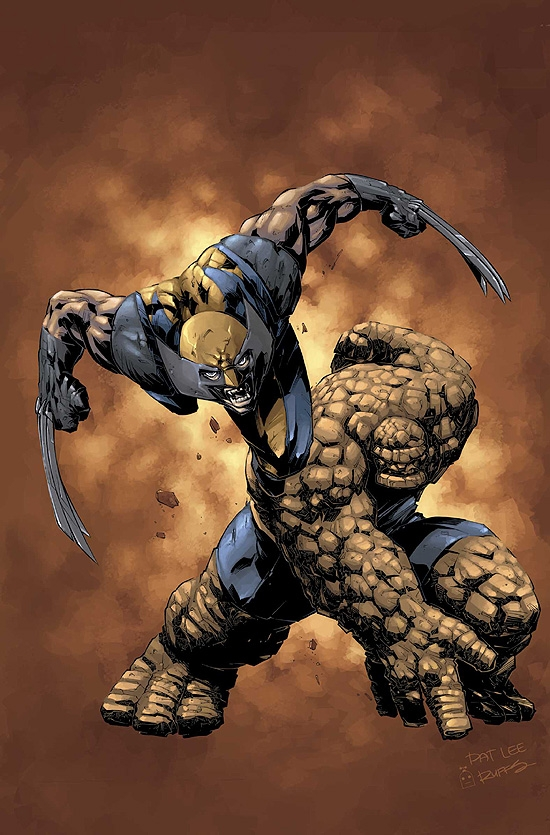 X-MEN/FANTASTIC FOUR (2006) #4 COVER