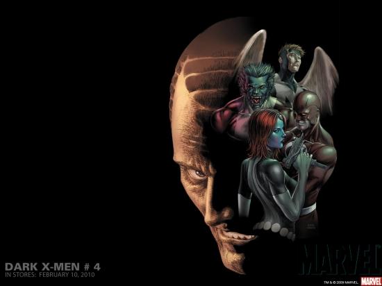 Dark X-Men (2009) #4 Wallpaper