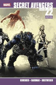 Secret Avengers #22  (Hardman Variant)