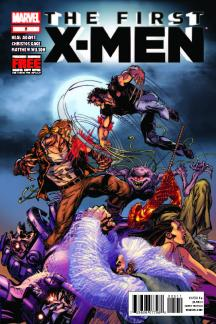 First X-Men (2011) #5