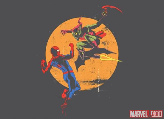 Spider-Man Vs. Green Goblin T-Shirt