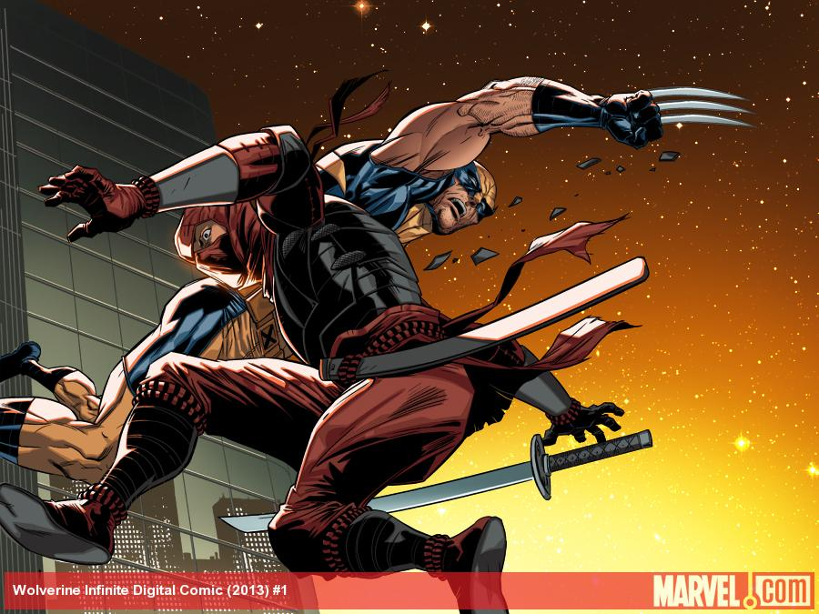 Wolverine: Japan's Most Wanted preview art by Paco Diaz
