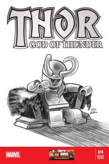 Thor: God of Thunder #14  (Castellani Lego Sketch Variant)