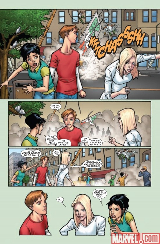 MARVEL ADVENTURES SPIDER-MAN #53, page 6