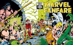 Marvel Fanfare #4