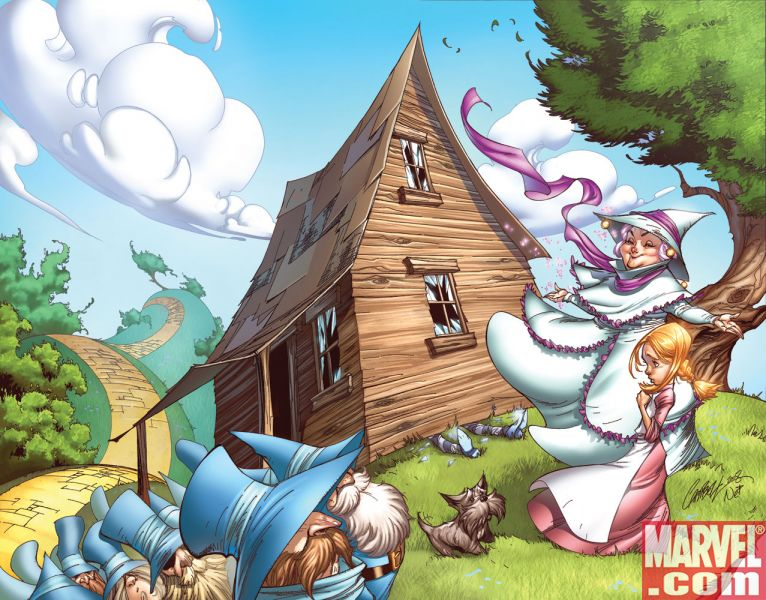 WONDERFUL WIZARD OF OZ #1 Campbell Variant