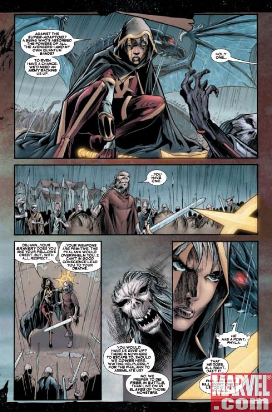 Annihilation Conquest: Quasar #4, page 2