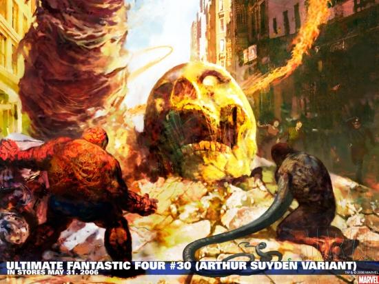 Ultimate Fantastic Four (2003) #30 Wallpaper