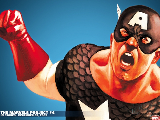 The Marvels Project (2009) #4 Wallpaper