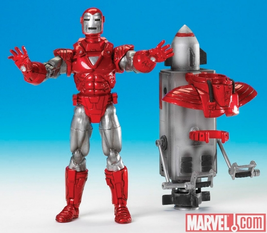 Silver Centurian Marvel Legends Iron Man Action Figure