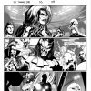THE THANOS IMPERATIVE #5 black and white preview art by Miguel Sepulveda 2