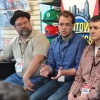 Tom Brevoort, Nick Lowe, and Mark Paniccia at Midtown Comics' Meet the Publishers