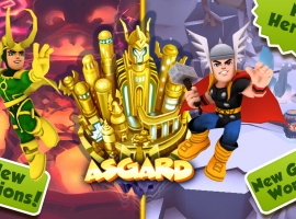 Super Hero Squad Online Asgard Expansion Now Live