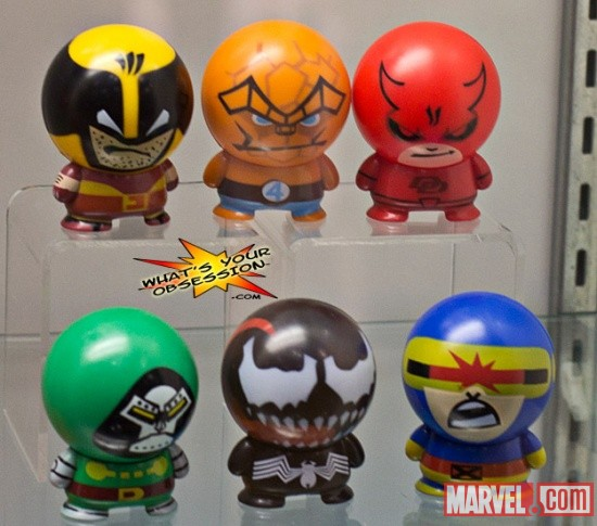 New York Comic Con 2011: Marvel Designer Toys