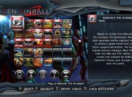Screenshot from Marvel Pinball: Avengers Chronicles