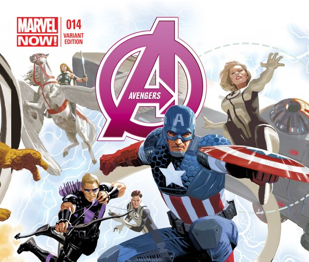 AVENGERS 14 AVENGERS 50TH ANNIVERSARY VARIANT (WITH DIGITAL CODE)