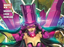 Galacta: Daughter of Galactus (2010) #1