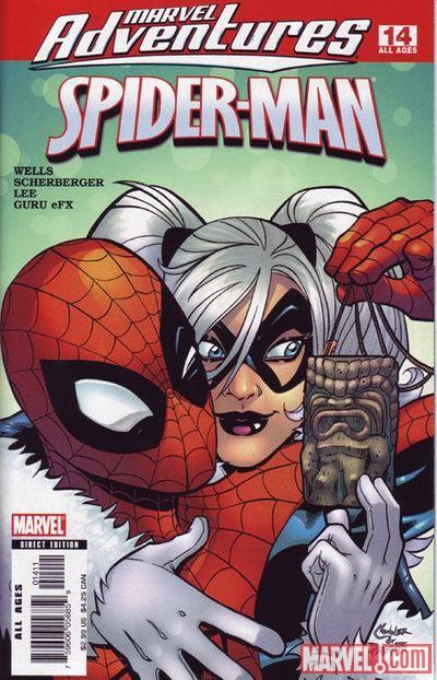 Человек паук анимация