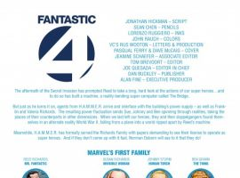 DARK REIGN: FANTASTIC FOUR #4, Recap Page