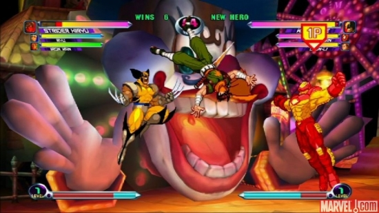 """Marvel vs. Capcom 2"" screen shot 1"