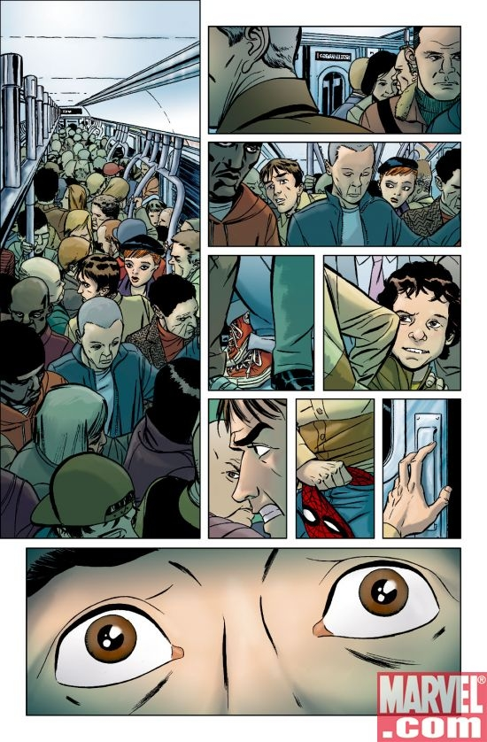 AMAZING SPIDER-MAN #578 preview art by Marcos Martin