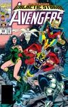 AVENGERS #345 COVER