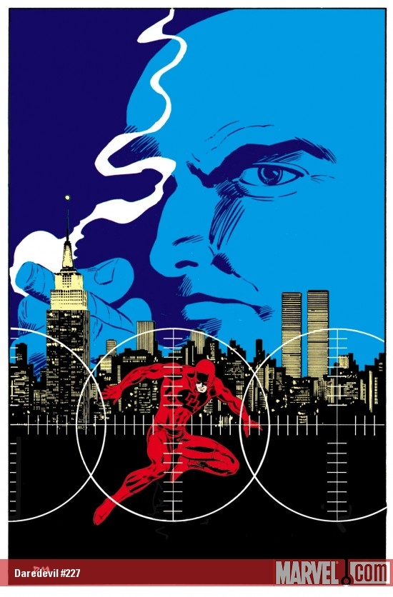 DAREDEVIL #227 COVER