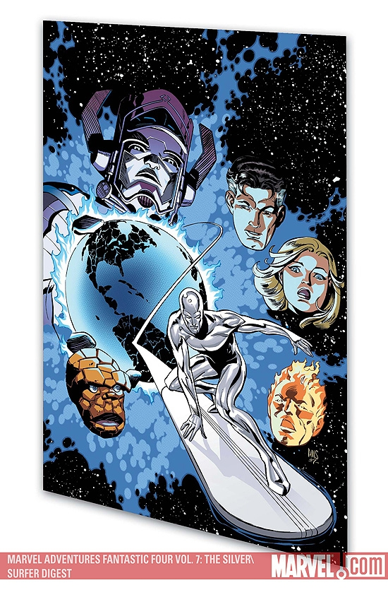 MARVEL ADVENTURES FANTASTIC FOUR VOL. 7: THE SILVER SURFER #0