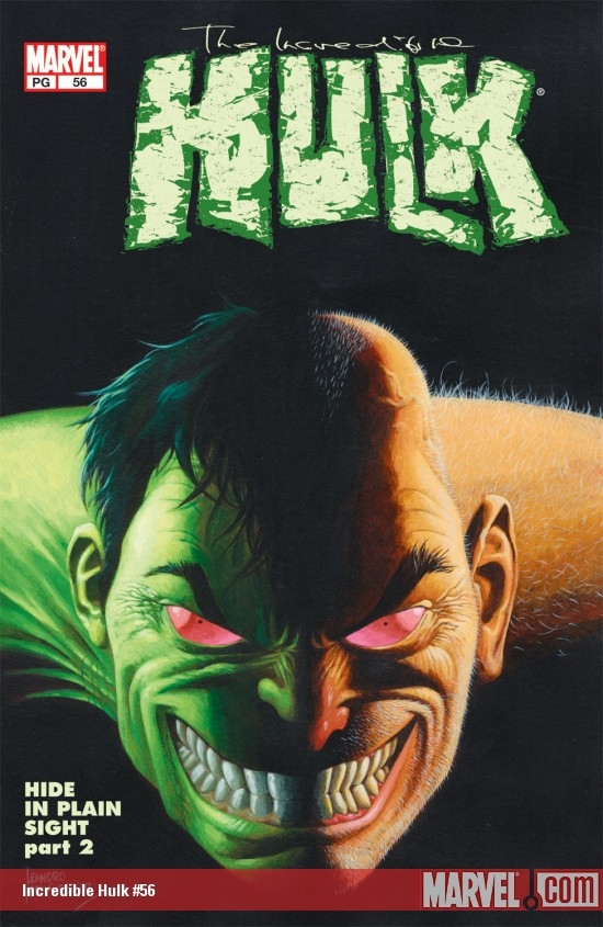hulk four series comic book cover