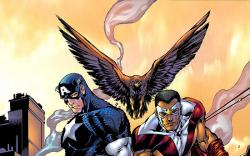 CAPTAIN AMERICA & THE FALCON (2006) #10 COVER