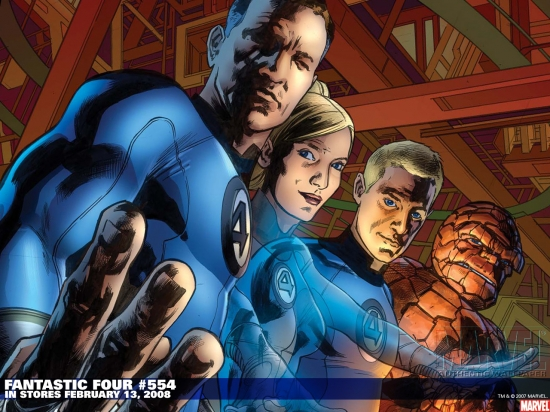 Fantastic Four (1998) #554 Wallpaper