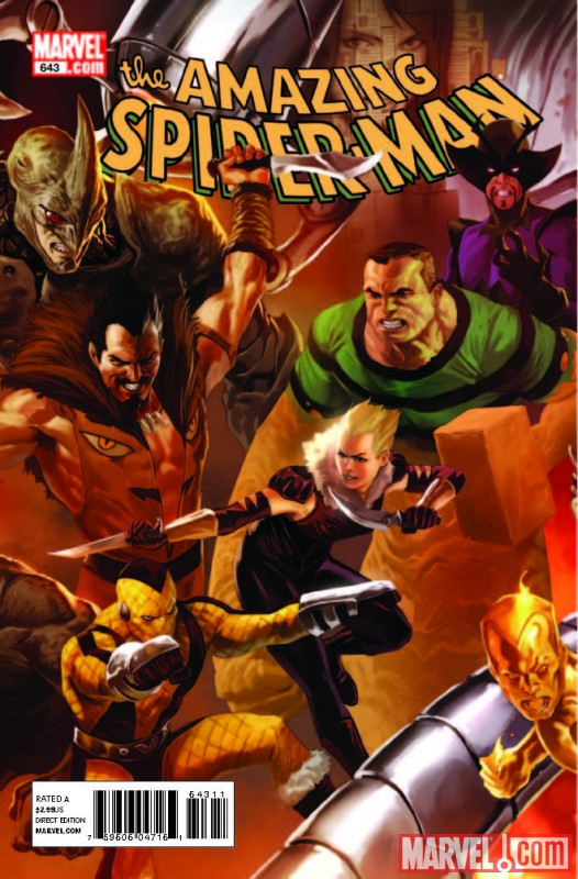 Image Featuring Diablo, Kraven the Hunter, Rhino, Sandman