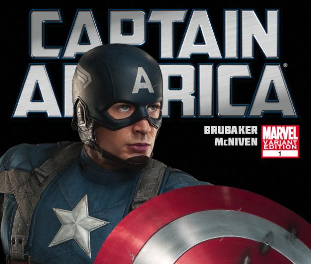 Captain America (2011) #1 Movie Variant Cover