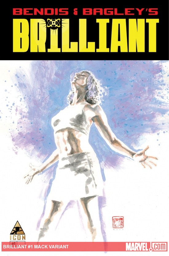 Brilliant (2011) #1, Mack Variant