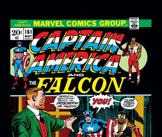 Captain America (1968) #161 Cover