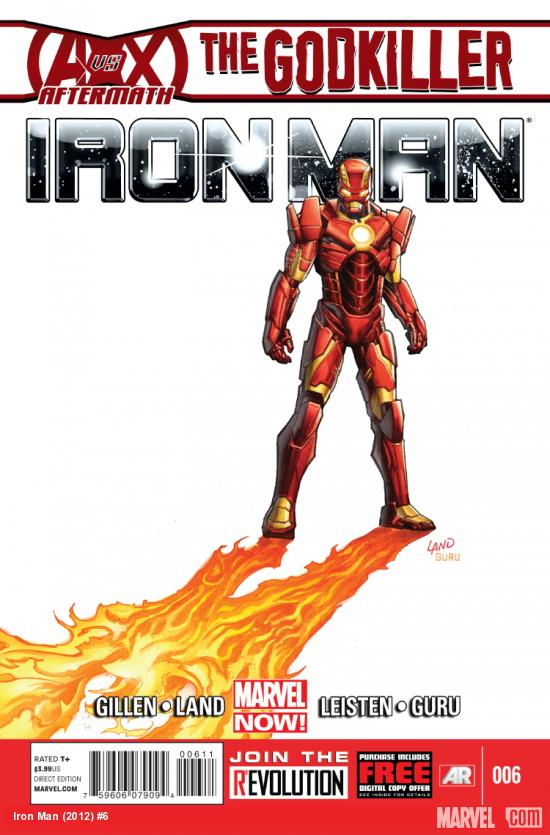 cover from Iron Man (2012) #6
