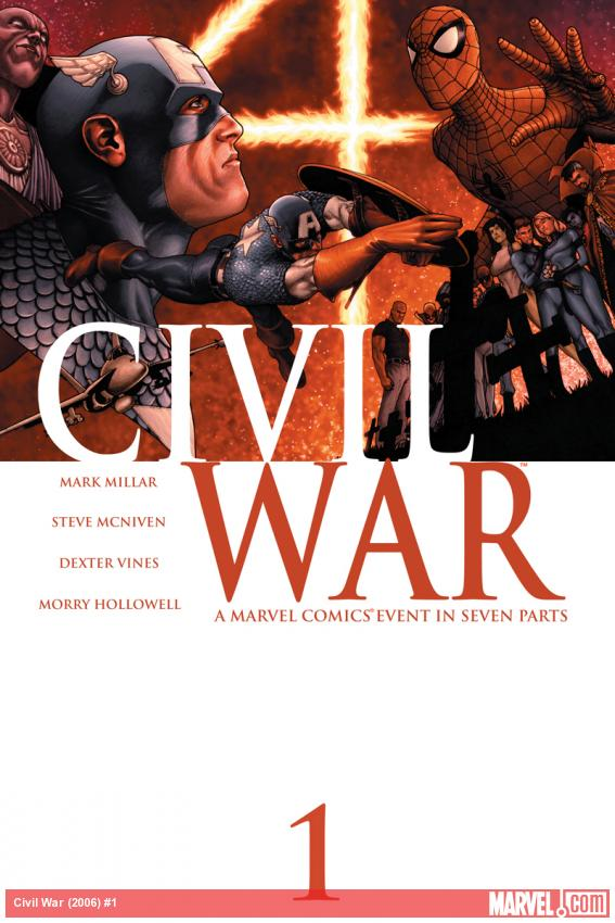 Cover: Civil War (2006) #1