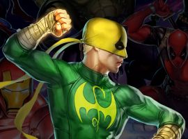 Iron Fist in Marvel Puzzle Quest