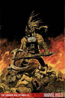 The Savage Axe of Ares #1