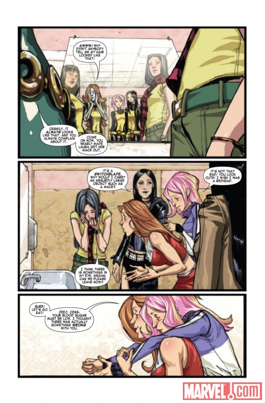 X-MEN: PIXIE STRIKES BACK #1 Art by Sara Pichelli