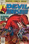 DEVIL DINOSAUR #5 Cover by Jack Kirby