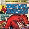 DEVIL DINOSAUR #5 Cover by Jack Kirby