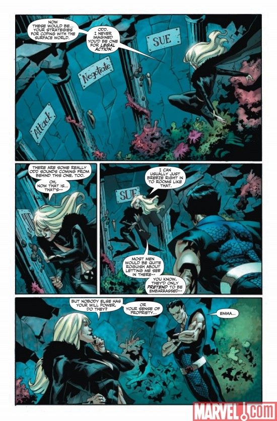 DARK X-MEN: THE BEGINNING #3, page 3