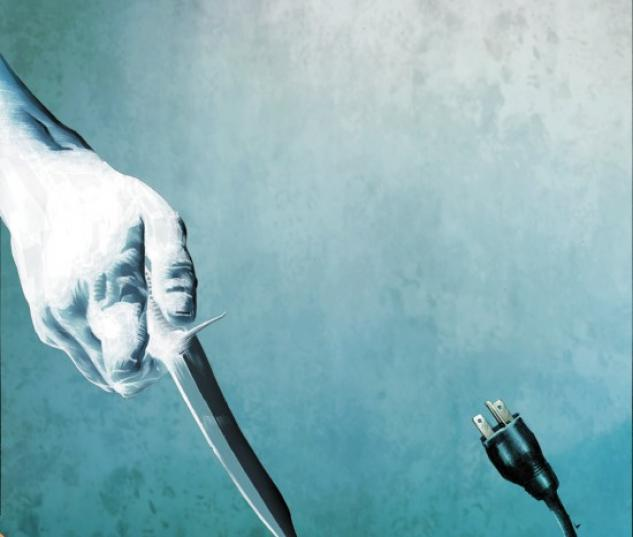 DARK REIGN: MISTER NEGATIVE #3 cover by Jae Lee