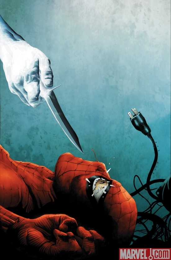DARK REIGN: MISTER NEGATIVE #3 cover by Jae Lee
