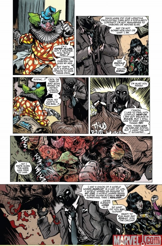 DARK REIGN: ZODIAC #1, page 6