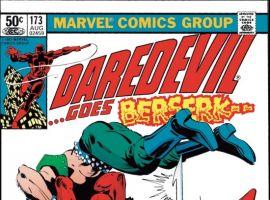 DAREDEVIL #173 COVER