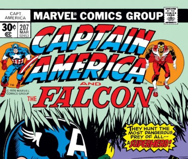CAPTAIN AMERICA #207 COVER