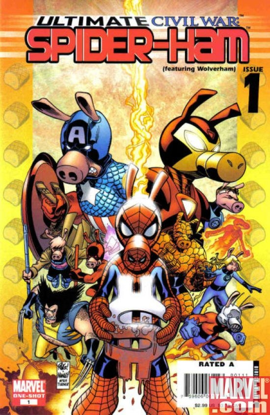 Ultimate Civil War: Spider-Ham #1